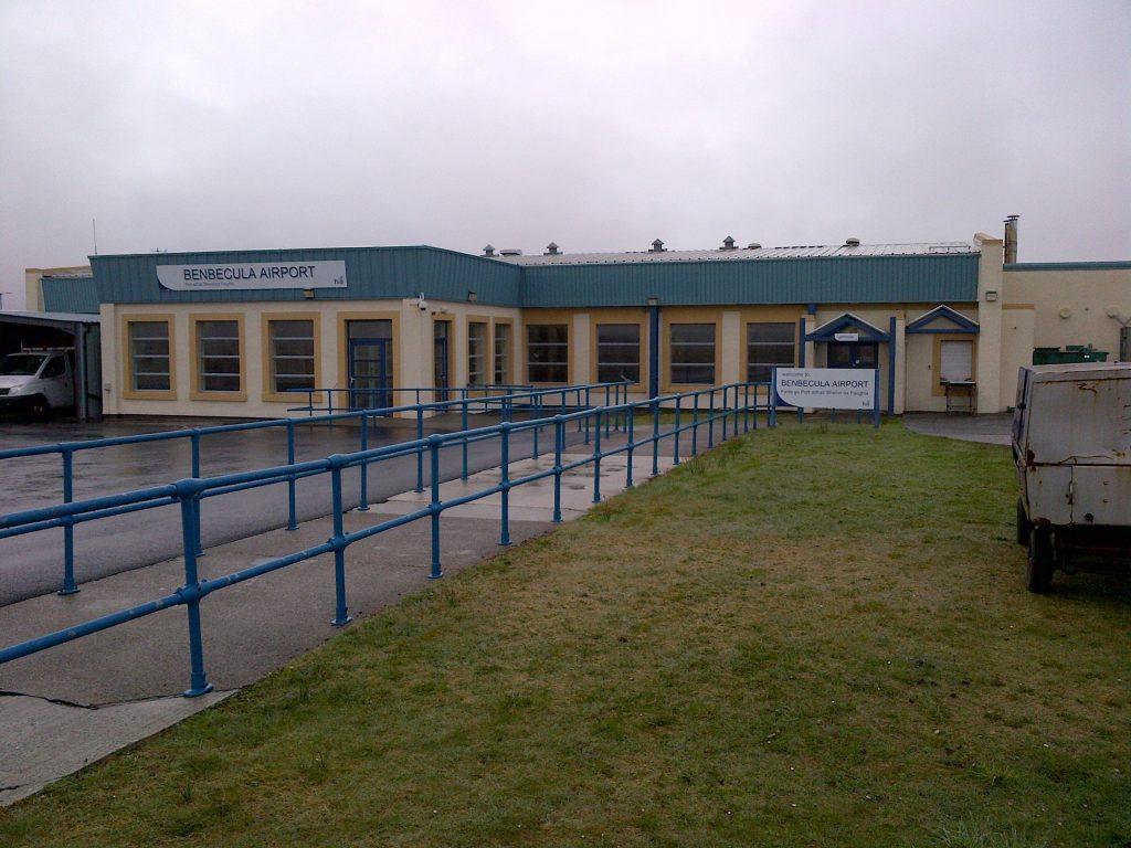 HIAL Benbecula Airport Airside