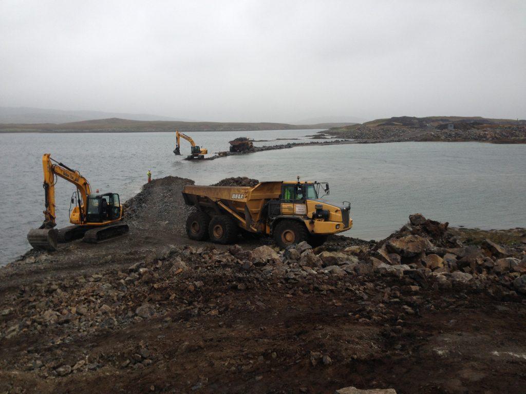 MIB Principal Contractor - Causeway Installation Lochboisdale Harbour & Marina