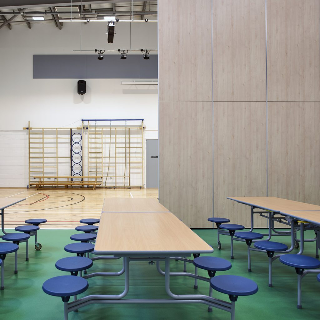 North Uist School Interior