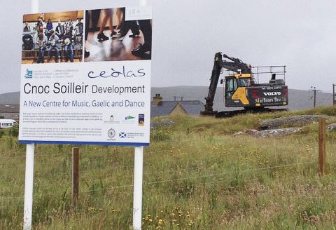Cnoc Soilleir Start On Site
