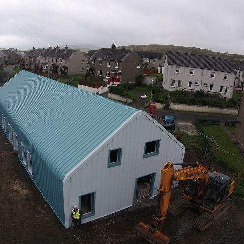 MIB Main Subcontractor to KEIR, Construction of 2 Industrial Units in Castlebay - Value £575k